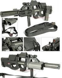 p90 air soft gun