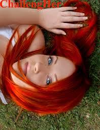 red orange hair color