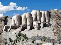 Mount Rushmore - Wikiality