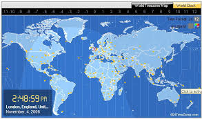 map clocks