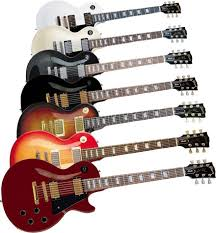 les paul standard guitars