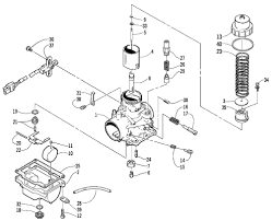 arctic cat snowmobile parts diagrams