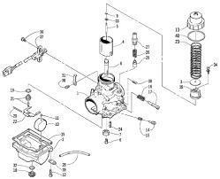 carburetor schematic