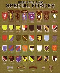 army special forces insignia