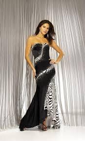 leopard formal dress