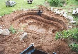 pond excavation