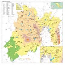 mapa de el estado de mexico