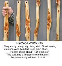 carved walking cane