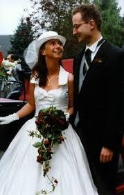 german wedding dress
