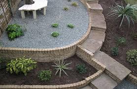 sloped garden designs