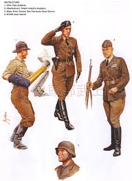 military uniforms wwii