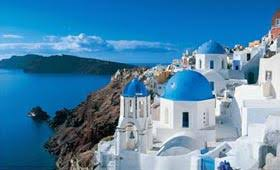 beautiful greek island