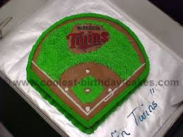 baseball cake ideas