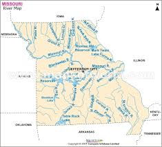 map of missouri rivers