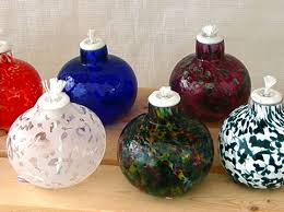 glass oil lanterns