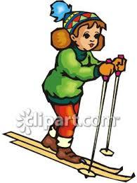 snow skiing clip art