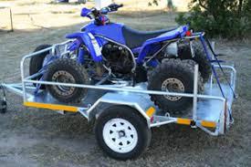 quad bikes trailers