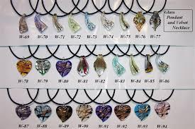 blown glass hearts