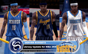 denver nuggets uniforms