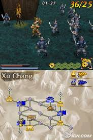 dynasty warriors ds fighters battle