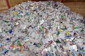recycling plastic bottle