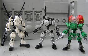 how to make lego robot