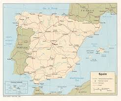 mapa espa a