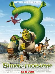 shrek the third posters