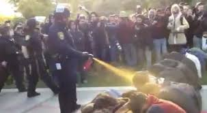 Pepper Spraying UC Davis