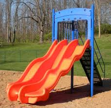 play ground slide