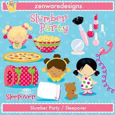 sleepover slumber party