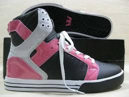 pink supra shoes