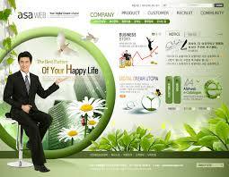 korean web design