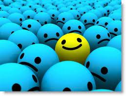 blue smileys