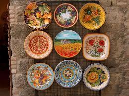 hand painted ceramics