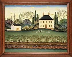 american folk art painting
