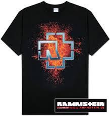 rammstein tshirts
