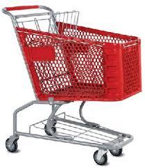 shopping trolley wheel