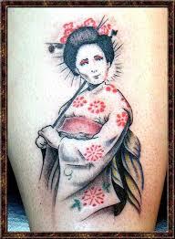 japanese girls tattoos