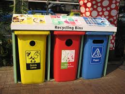 new recycling bins