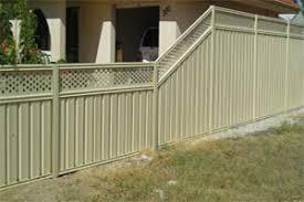 colorbond fences