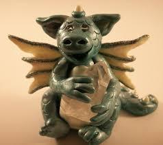clay dragons