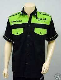 kawasaki pit shirt