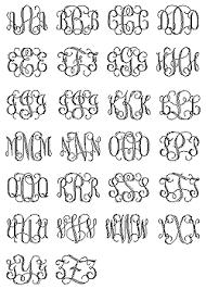 monogram engraving