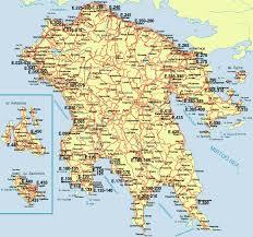 greece road maps