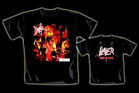 camisetas slayer