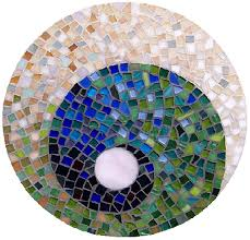 stained glass mosaic art