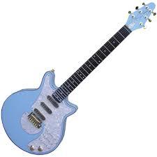 baby blue guitar
