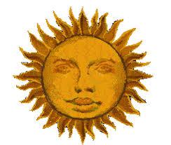 moving sun