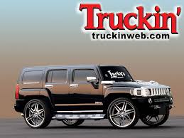 customized h3 hummer